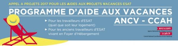 Programme d'aide aux vacances ANCV-CCAH